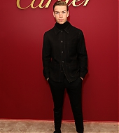 Will Poulter at Cartier boutique reopening celebration