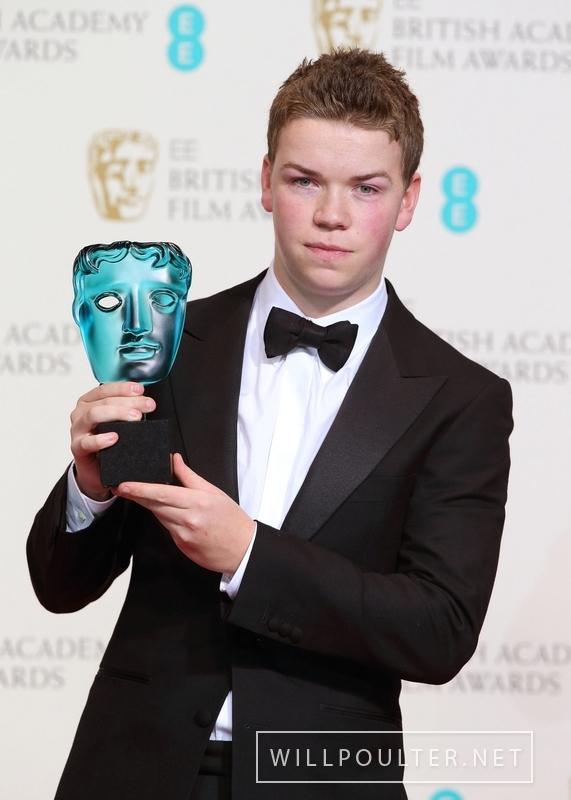 Will Poulter wins Rising Star award at BAFTA