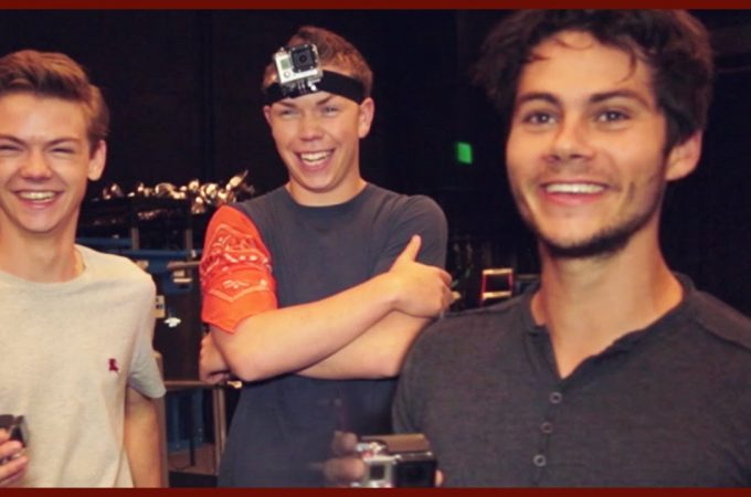 Video: The Maze Runner cast plays cops & robbers!