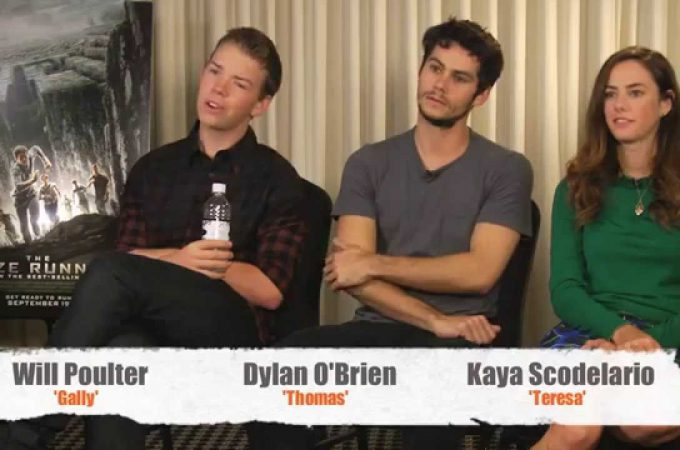 Watch: Will Poulter & The Maze Runner cast Fresh Fiction interview