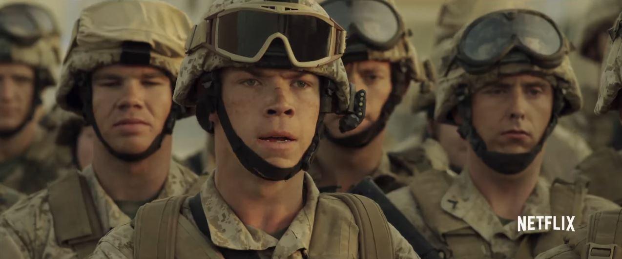 Will Poulter in 'War Machine'